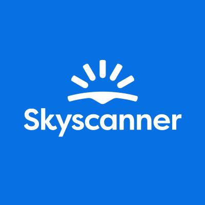 「スカイスキャナー ロゴ」の画像検索結果