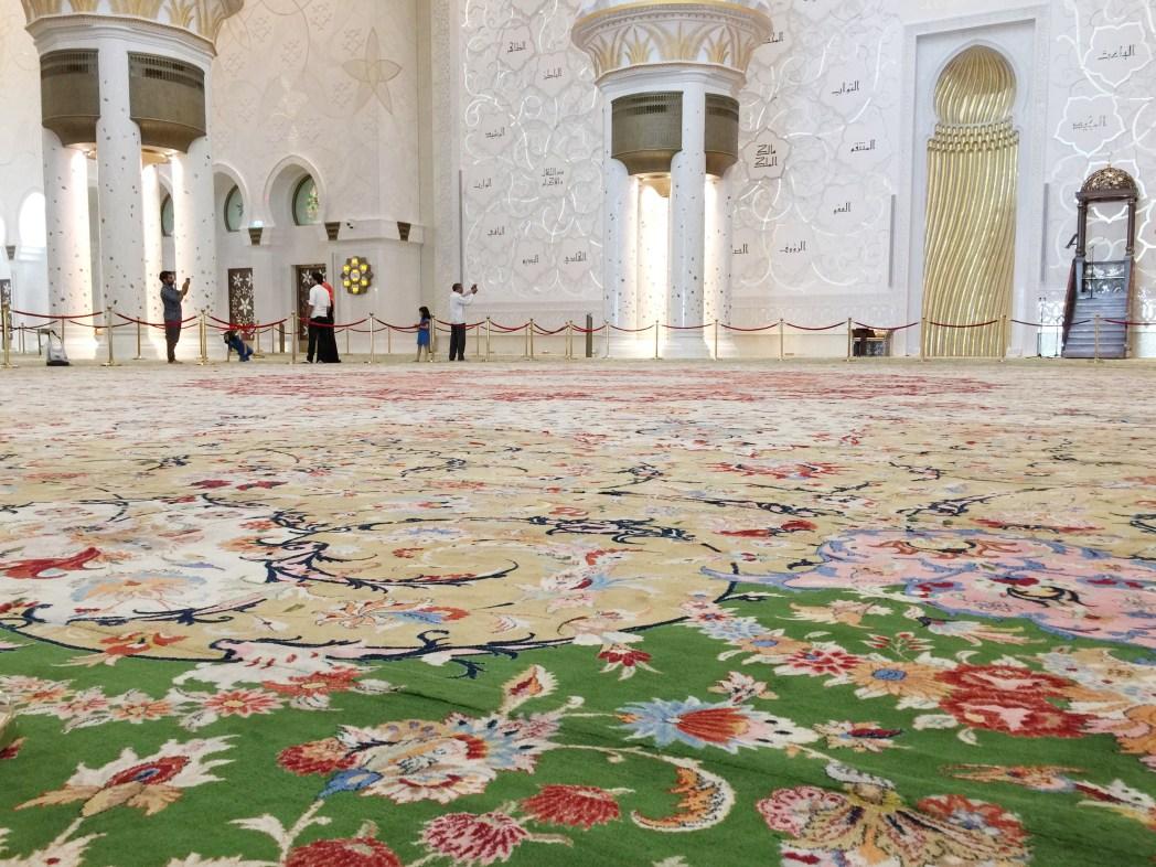 世界最大と言われているペルシャ絨毯