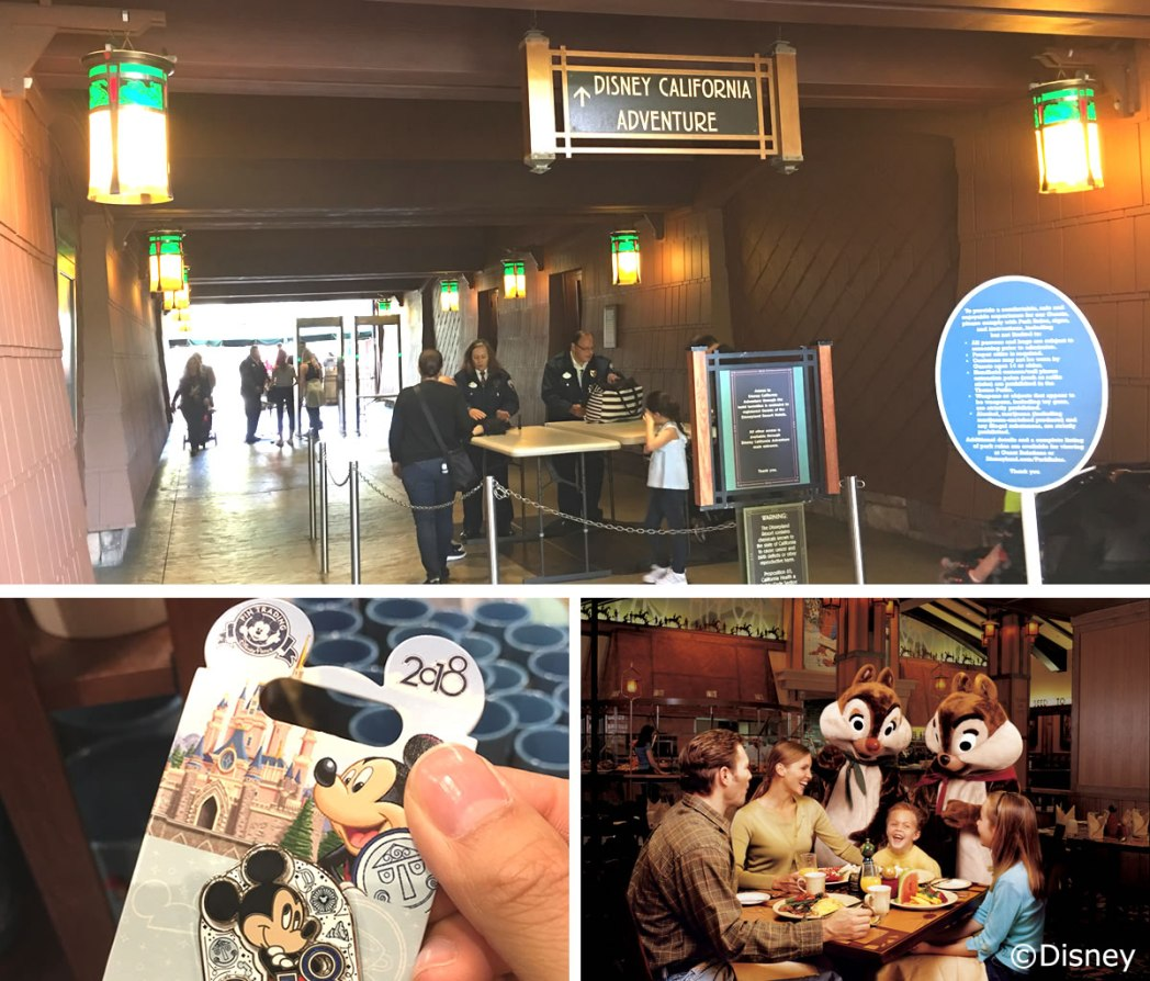 【Hotel】「ディズニー・カリフォルニア・アドベンチャー・パーク」へは専用エントランスのある「ディズニー・グランド・カリフォルニアン・ホテル&スパ」(Disney's Grand Californian Hotel & Spa)から