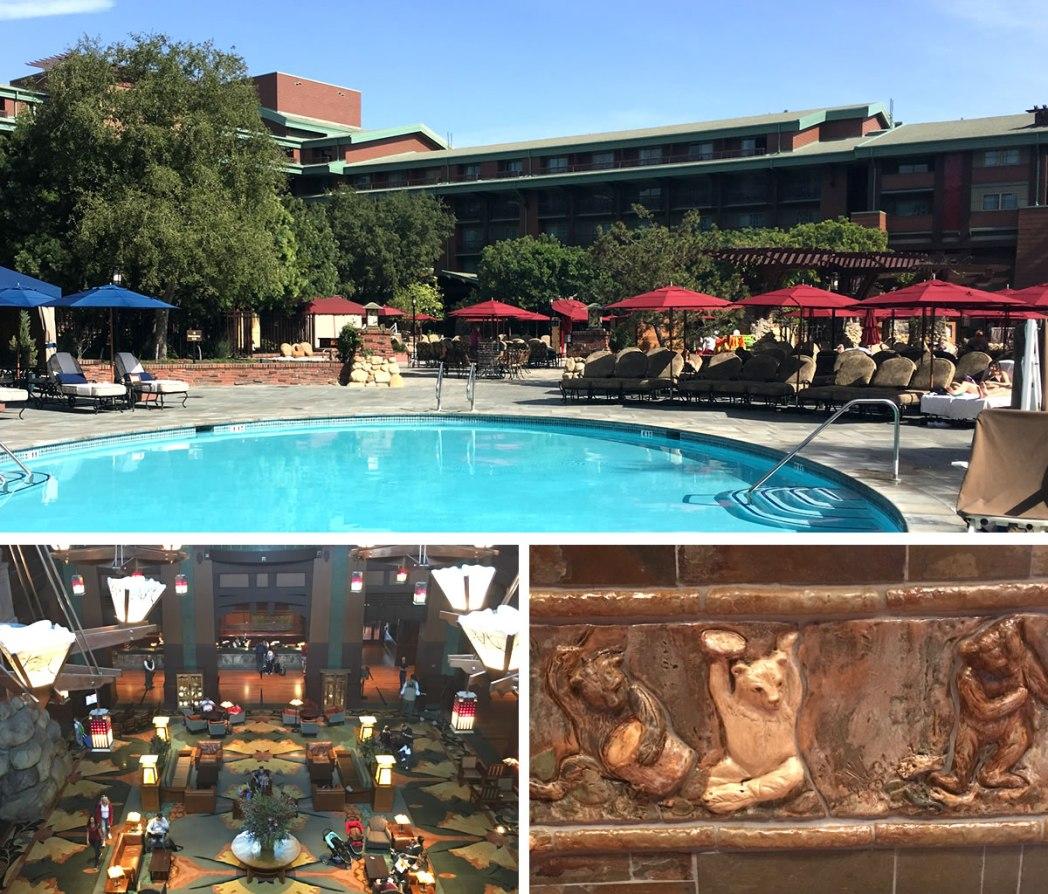 ロビーに隠れたミッキーを探せ!「ディズニー・グランド・カリフォルニアン・ホテル&スパ」(Disney's Grand Californian Hotel & Spa)