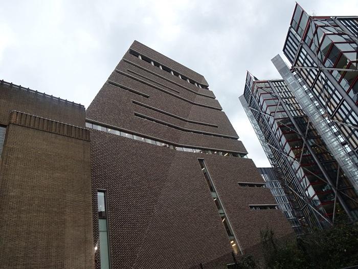 「テート・モダン美術館」新館の外観