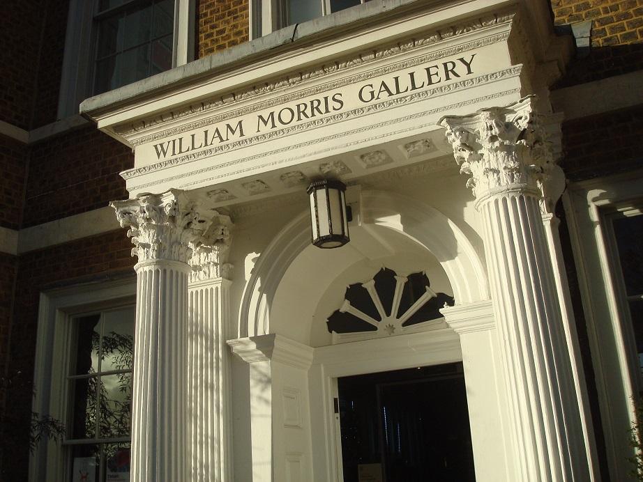 「ウィリアム・モリス・ギャラリー」の入口