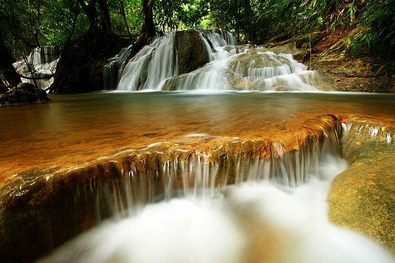 Kaangrian Falls、フィリピン