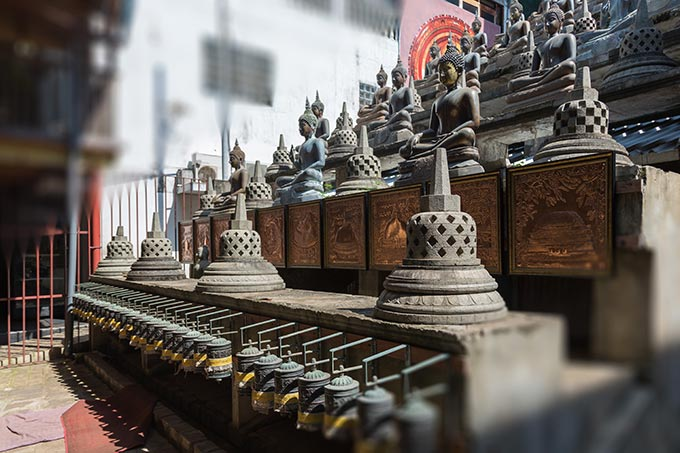 ガンガラーマ寺院、コロンボ
