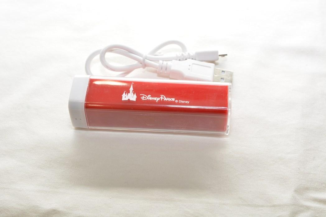 カリフォルニア ディズニーランド特製モバイルバッテリー(10名様)
