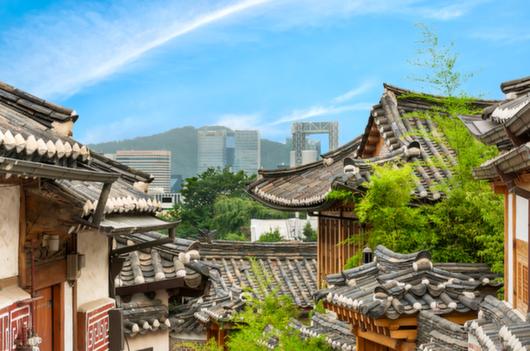 ソウルの伝統的な家、韓国