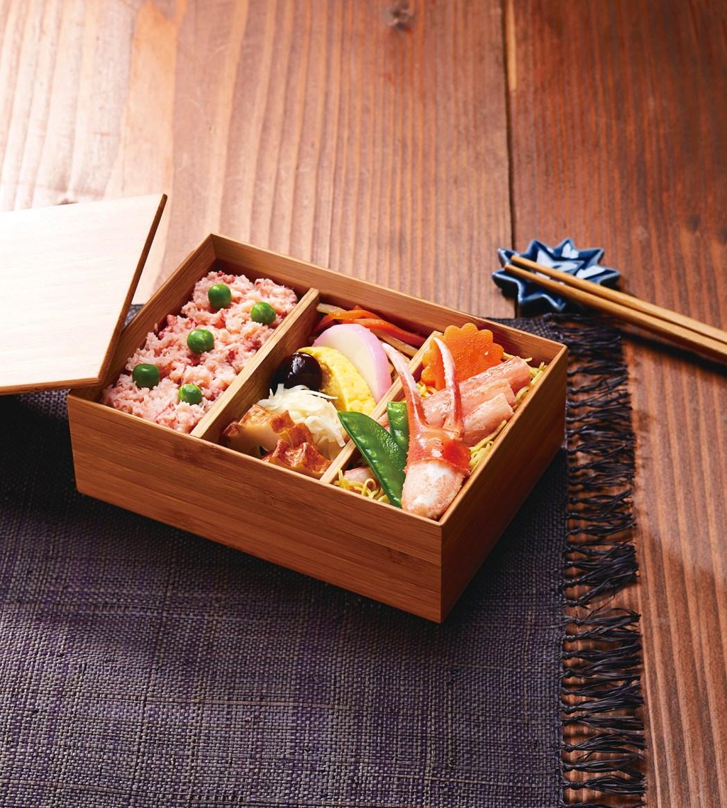 ピーチ・アビエーションの「カニ飯弁当」(1,300円)