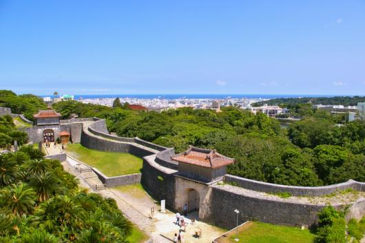 世界遺産、首里城、沖縄