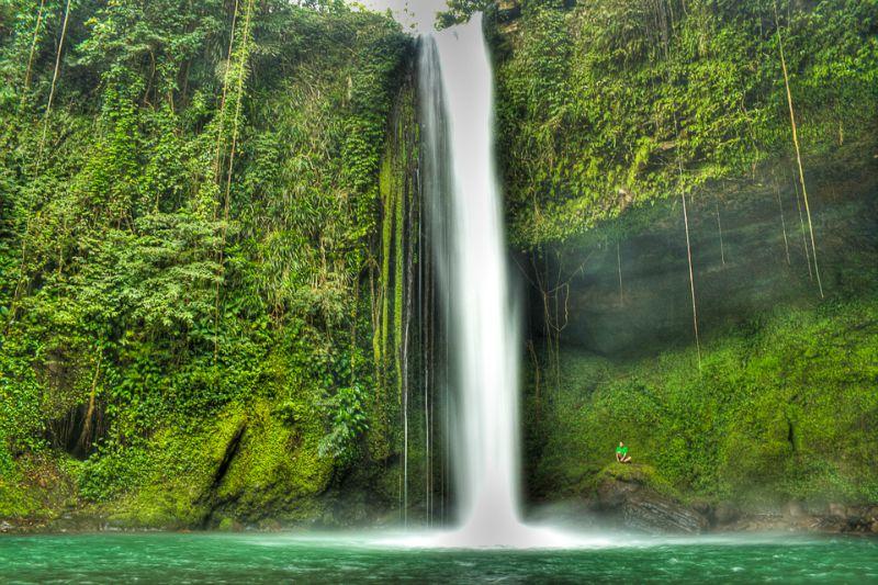 Buruwisan Falls、フィリピン