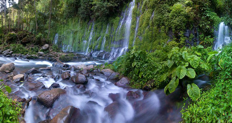 Asik-Asik Falls、フィリピン