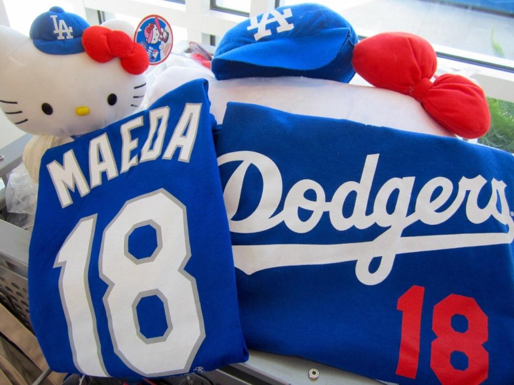 前田投手の背番号18のTシャツやレプリカユニフォーム