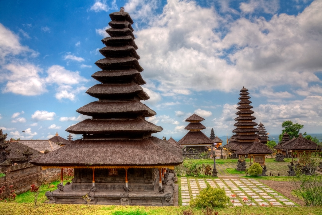 A beautiful historic site in Bali