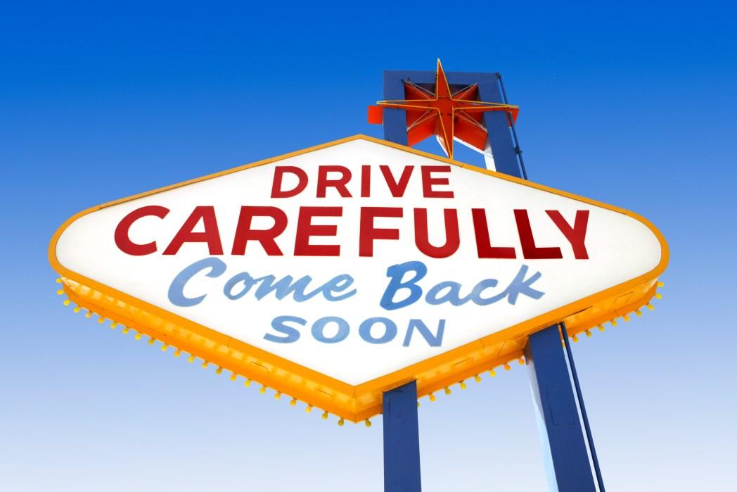安全運転で楽しい旅を!