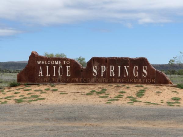 アリス・スプリングス、オーストラリア