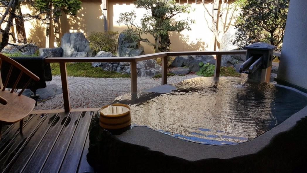 「さぎの湯荘」の貸切風呂
