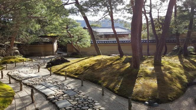 茶室「寿立庵」の庭