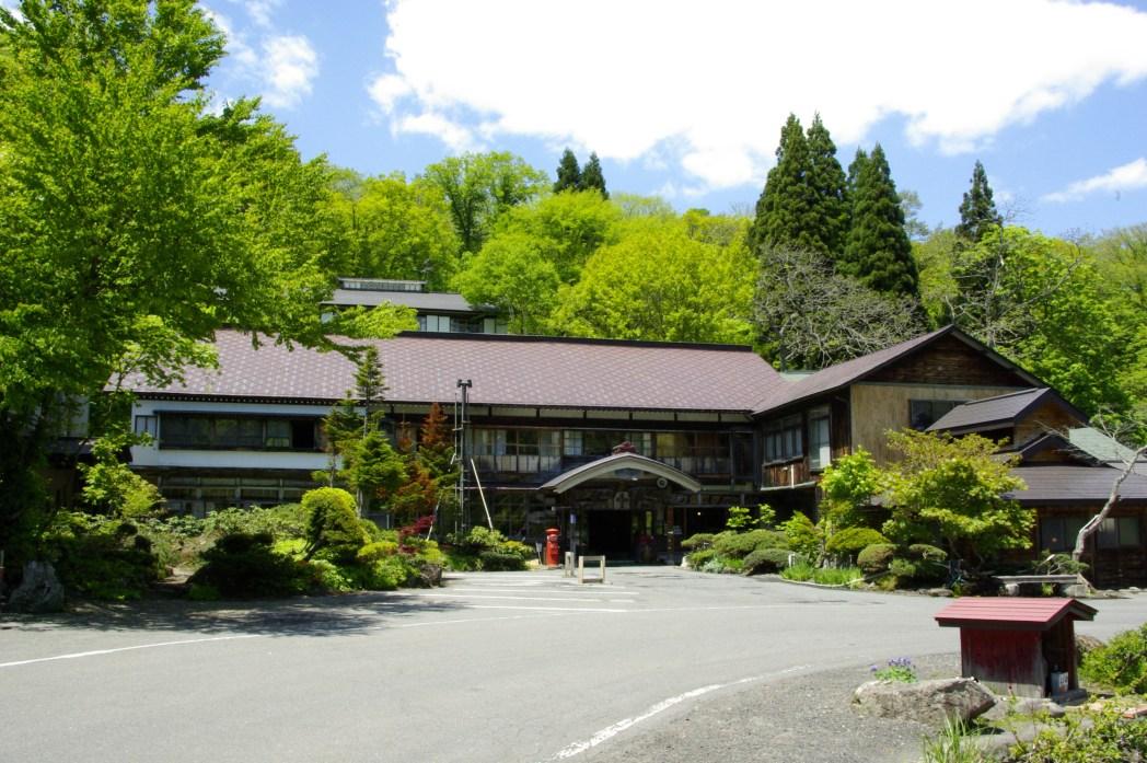 「蔦の七沼」散策に便利な蔦温泉旅館