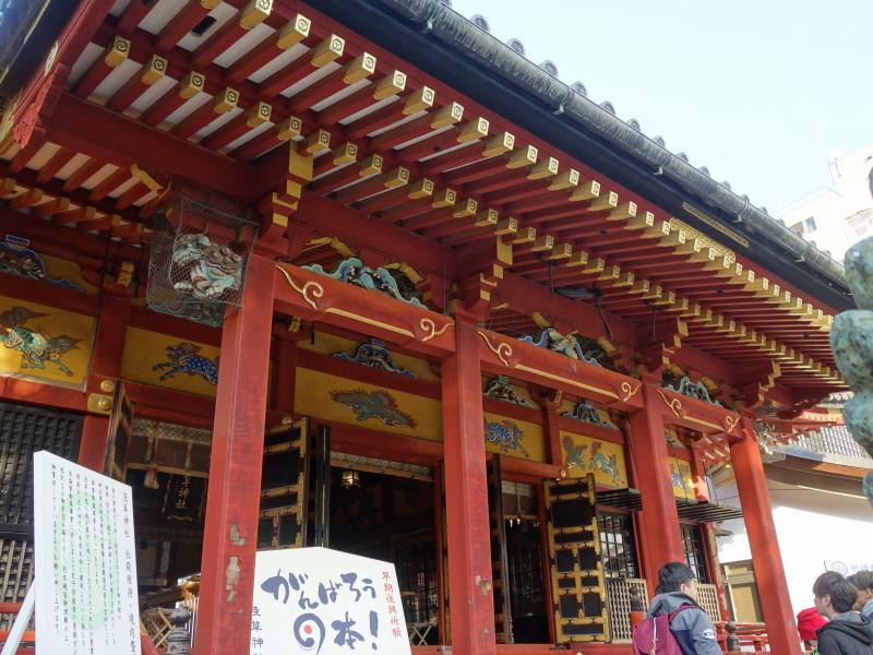 どの社寺からスタートしてもよい浅草名所七福神巡り