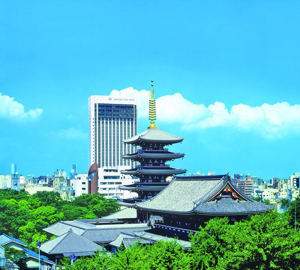 浅草の街を満喫できる「浅草ビューホテル」