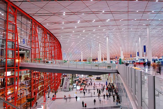 北京首都国際空港、中国
