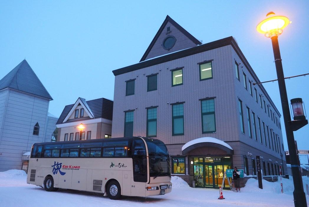美瑛町観光協会が実施するバスツアーが便利