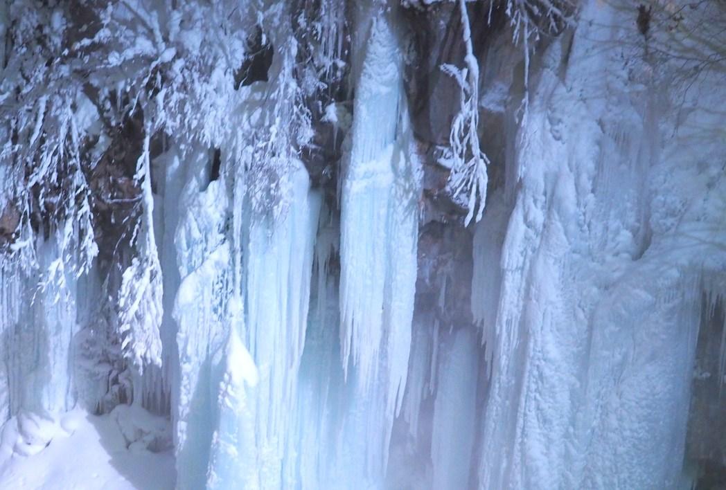美瑛の冬の夜は気温がマイナス10℃前後