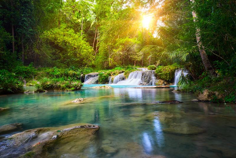 Cambugahay Falls、フィリピン