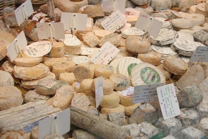世界のチーズが一堂に集結