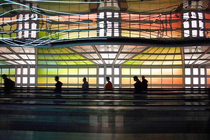 オヘア国際空港、アメリカ