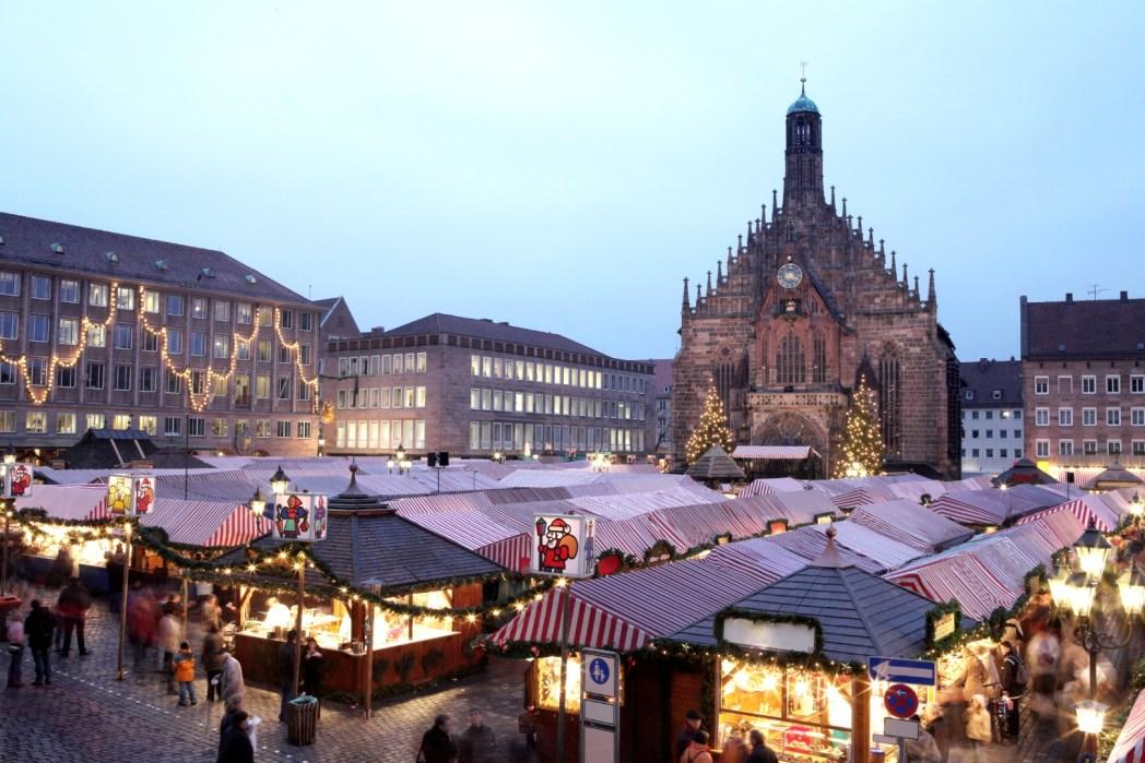 ニュルンベルク・クリスマスマーケット、ドイツ