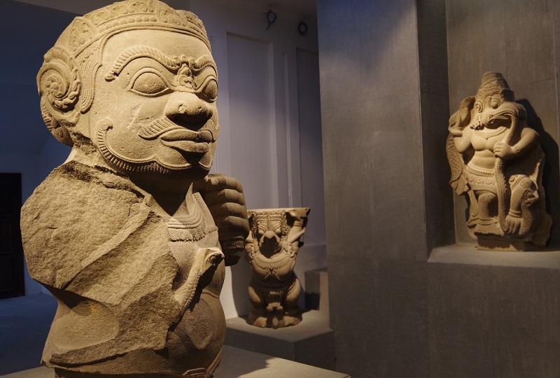 チャム族の文化がわかる「チャム彫刻博物館」