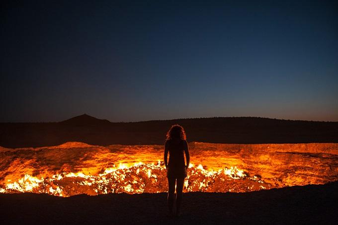 地獄への扉/トルクメニスタン