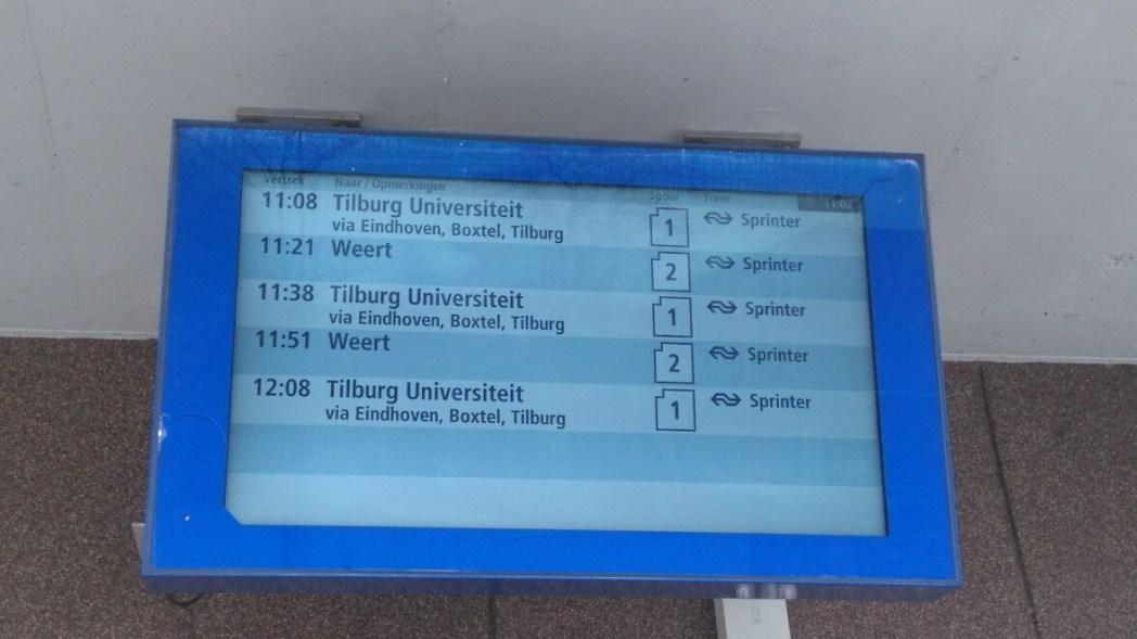 電車、地下鉄利用の際に目にする電光掲示板