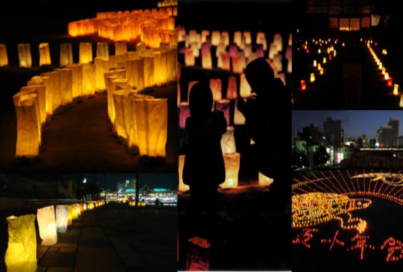 300年近く続く「千灯明祭」をヒントにしたイベント「博多灯明ウォッチング2017」
