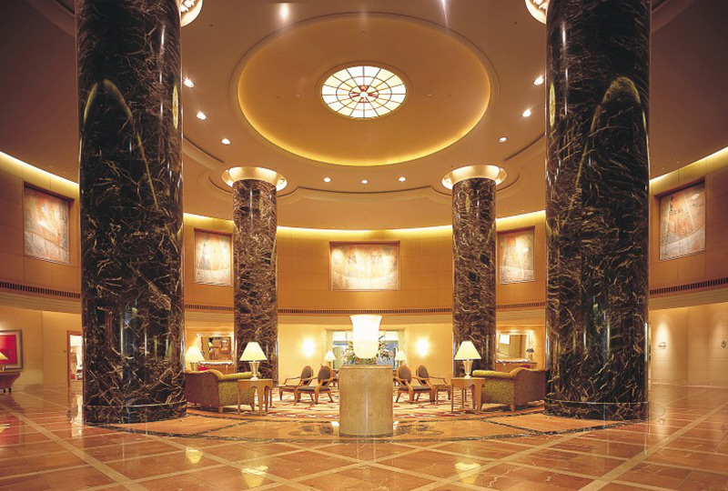 博多でおすすめの宿泊先「ホテルオークラ福岡」