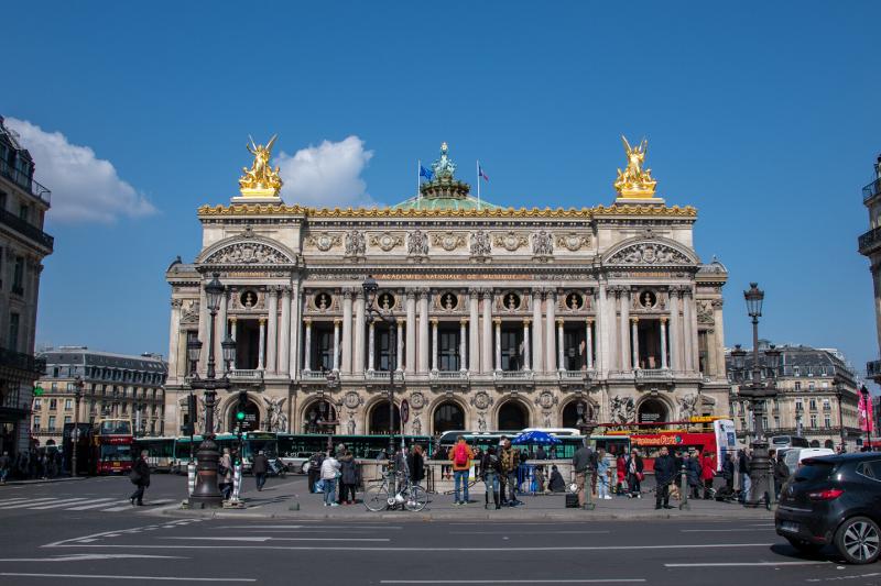 「オペラ座」と通称される「オペラ・ガルニエ」外観