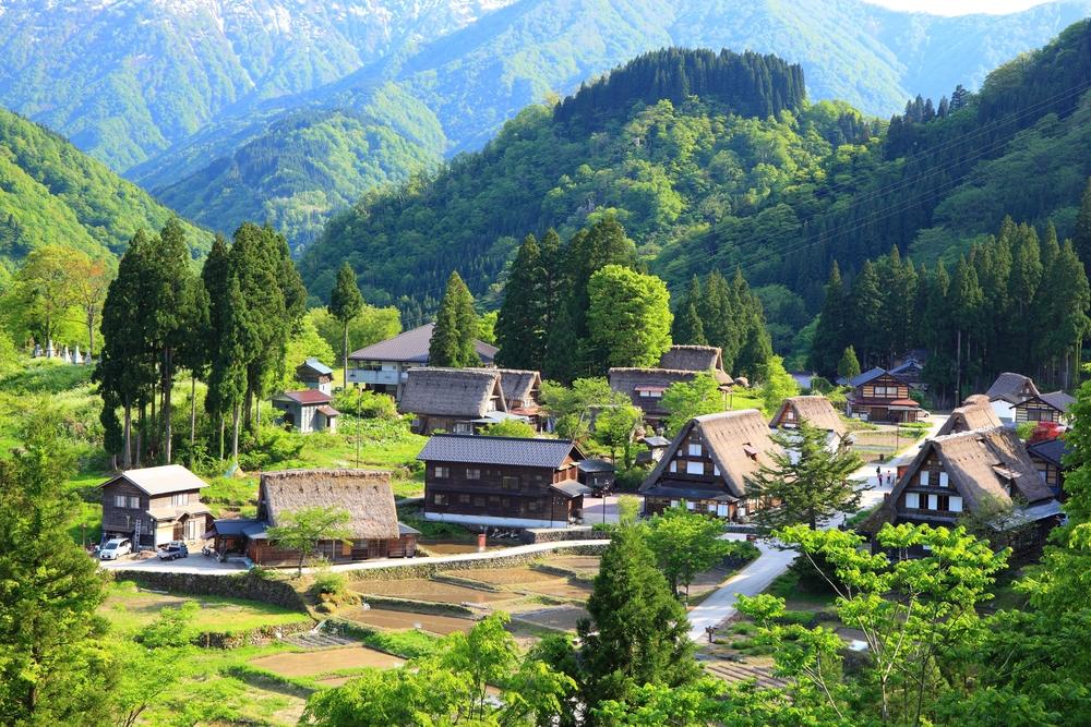 相倉合掌造り集落、富山