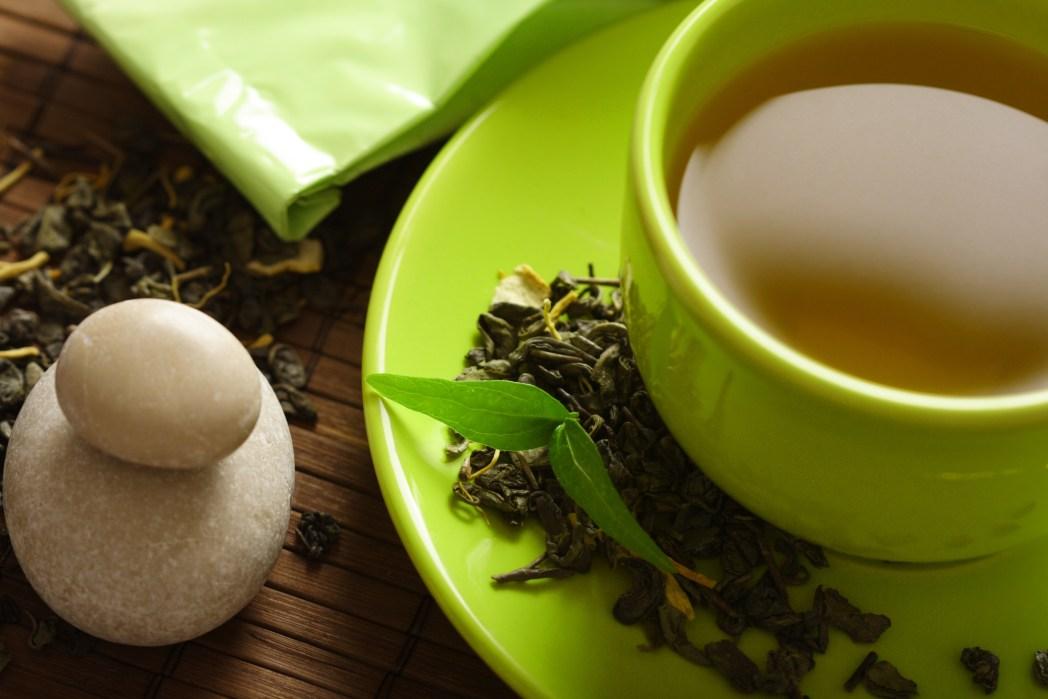 緑茶、中国