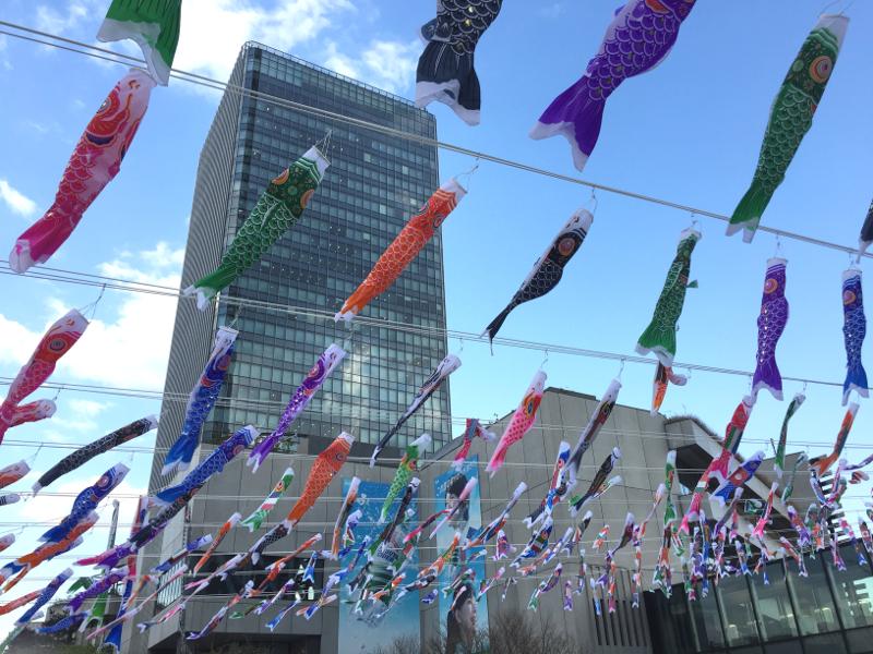 「東京スカイツリータウン(R)こいのぼりフェスティバル2018」