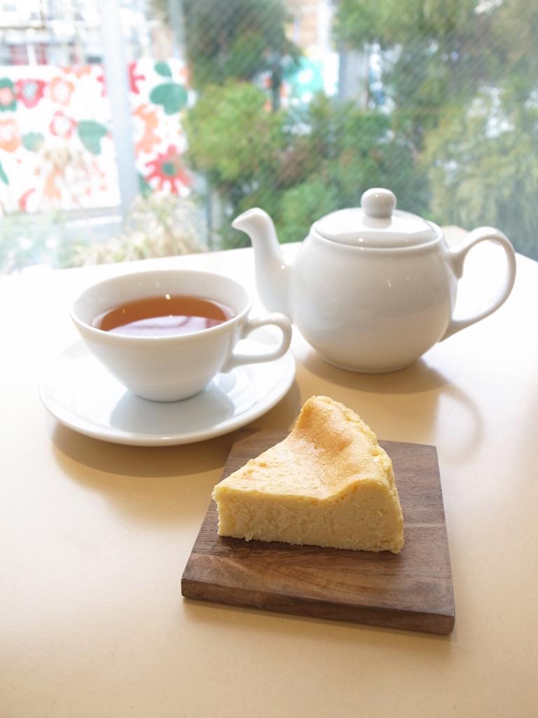 バオバブ・チーズケーキやロンネフェルト紅茶が楽しめる