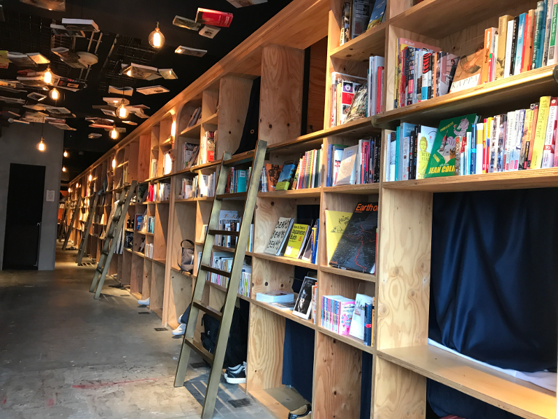 「BOOK AND BED TOKYO IKEBUKURO」