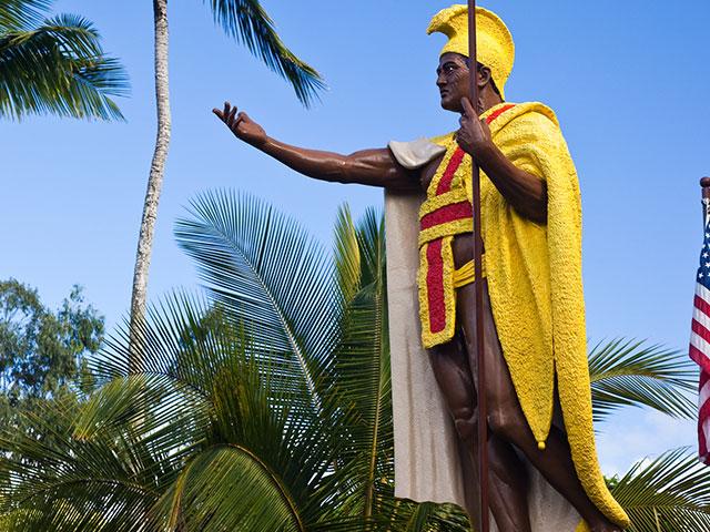 ハワイの英雄カメハメハ大王
