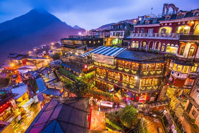 台湾、九分