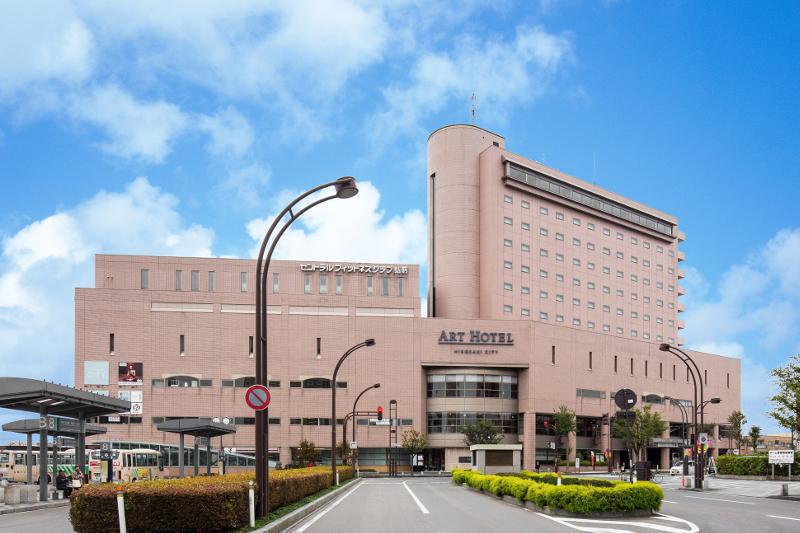 JR弘前駅から徒歩1分程の「アートホテル弘前シティ」