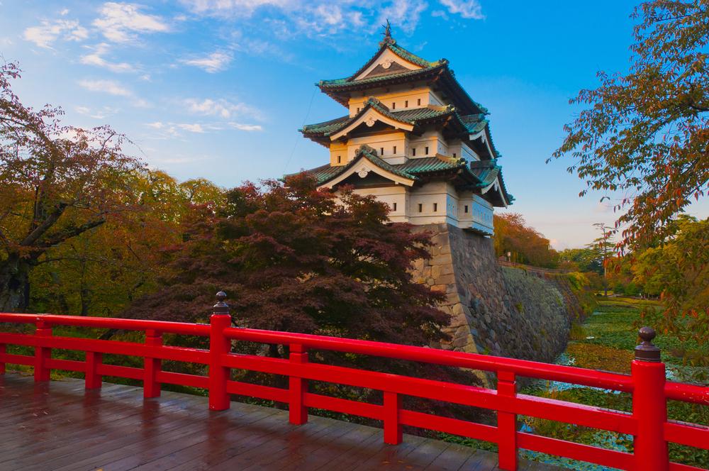 国内1位の青森県・弘前城