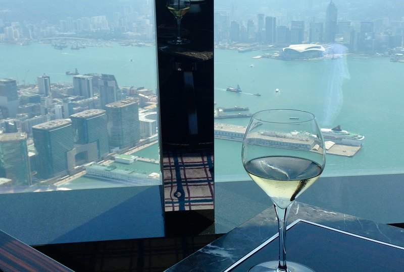 102階にある「トスカ」からの景色
