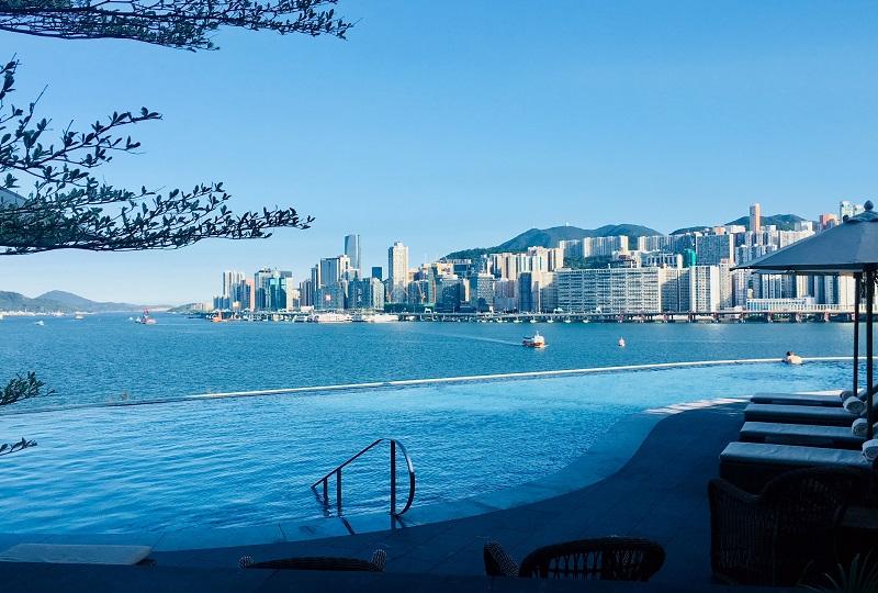 ビクトリア湾を見渡せるケリーホテル