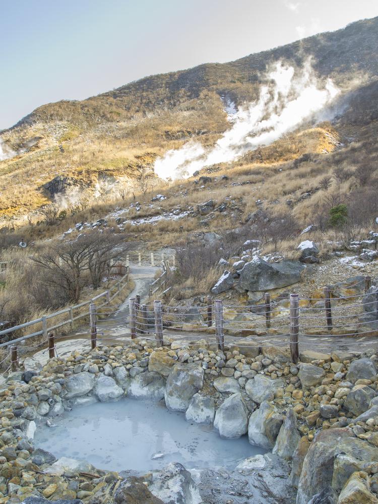 温泉、箱根