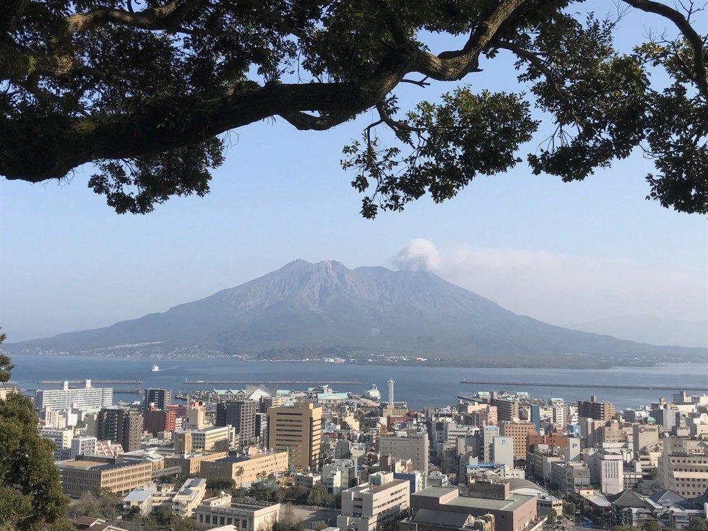 「城山公園展望台」からの眺め