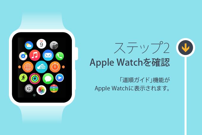 ステップ2: Apple Watchを確認